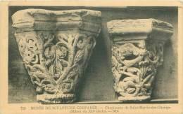 Musée De Sculpture Comparée - Chapiteaux De Saint-Martin-des-Champs - Milieu Du XIIe Siècle - Sculptures