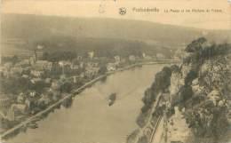 PROFONDEVILLE - La Meuse Et Les Rochers De Frênes - Profondeville