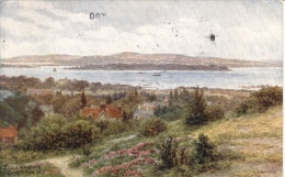 A.R. Quinton  -  Poole Harbour In Dorset As Seen From Constitution Hill  -  1650 - Quinton, AR