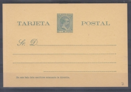 *F-EX.89 PUERTO RICO SPAIN ESPAÑA POSTAL STATIONERY 1899. EDIFIL No.7.  24€ - Puerto Rico