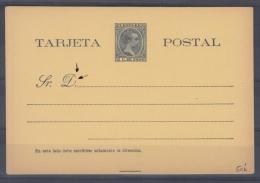 *F-EX.90 PUERTO RICO SPAIN ESPAÑA POSTAL STATIONERY 1899. EDIFIL No.5.  24€ - Puerto Rico