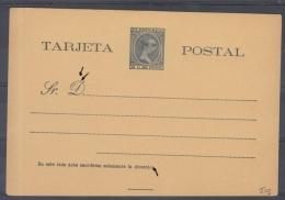 *F-EX.91 PUERTO RICO SPAIN ESPAÑA POSTAL STATIONERY 1899. EDIFIL No.5.  24€ - Puerto Rico
