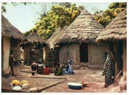(DEL 808) Africa - Village Life (food Preparation) - Métiers