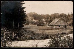 Latvia WWI 1915 LIGATNE Postcard, Field Post, 1026th Temporary Hospital Train, RARE !!! - Lettonia