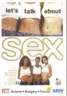 15V : Let´s Talk About Sex, Sexy Women, AIDs, HIV , Durex Promo Adcard - Health