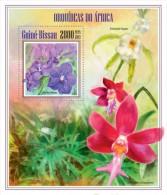 Z08 GB13606b GUINEA-BISSAU 2013 Orchids MNH - Guinea-Bissau