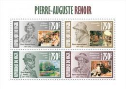Z08 NIG13402a NIGER 2013 Auguste Renoir MNH Mini Sheet - Niger (1960-...)