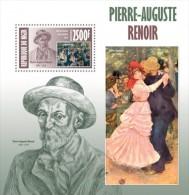 Z08 NIG13402b NIGER 2013 Auguste Renoir MNH Souvenir Sheet - Niger (1960-...)