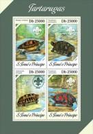 Z08 ST13609a Sao Tome And Principe 2013 Turtles MNH - São Tomé Und Príncipe