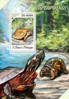 Z08 ST13609b Sao Tome And Principe 2013 Turtles MNH - São Tomé Und Príncipe