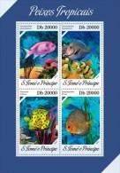 Z08 ST13610a Sao Tome And Principe 2013 Fishes MNH - São Tomé Und Príncipe