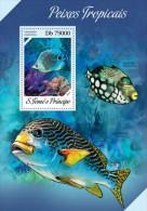 Z08 ST13610b Sao Tome And Principe 2013 Fishes MNH - São Tomé Und Príncipe