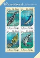 Z08 ST13617a Sao Tome And Principe 2013 Marine Life MNH - São Tomé Und Príncipe
