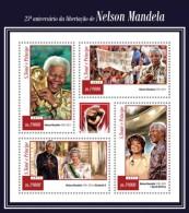 Z08 ST15118a Sao Tome And Principe 2015 Nelson Mandela MNH - Sao Tome And Principe