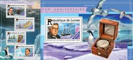 IMPERFORATED GU15201ab GUINEA (Guinee) 2015 Endurance Expedition Ships Schiffe MNH Set - Guinea (1958-...)