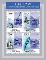IMPERFORATED TG13307a TOGO 2013 Halley VI MNH - Togo (1960-...)