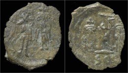 Constans II AE Follis - Byzantines