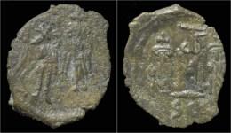 Constans II AE Follis - Byzantium