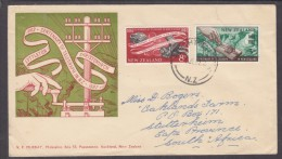 New Zealand, 1962, Centenary Of Telegraph In NZ,  First Day Cover - FDC