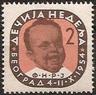 Yugoslavia 1954 Children's Week Surcharge MNH - 1945-1992 Repubblica Socialista Federale Di Jugoslavia