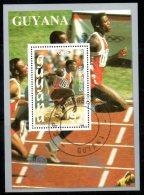 GUYANA. BF Oblitéré De 1988. Vainqueur Aux J.O. De Séoul/Carl Lewis/Athlétisme. - Summer 1988: Seoul