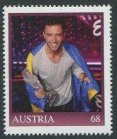 ÖSTERREICH / PM Nr. 8115209  / Eurovision Song Contest Sieger 2015 Mans Zelmerlöw / Postfrisch / MNH / ** - Personalisierte Briefmarken