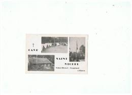 SCOUTISME  CAMP  SAINT  MICHEL  à  SAINT MICHEL - SOUGLEND  (AISNE) - Pfadfinder-Bewegung