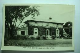 cliff house country club, dunwich, suffolk