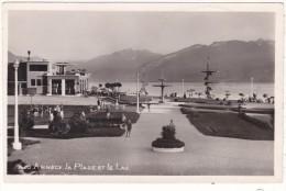 1403   ANNECY.  -  La  Plage  Et  Le  Lac - Annecy