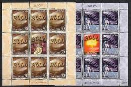 Europa Cept 2000 Yugoslavia 2v Sheetlets ** Mnh (F4126D) Promo - Europa-CEPT