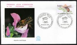 FRANKREICH 1979 - Honigbiene, Honeybee - FDC - Honeybees