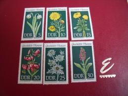 Timbres DDR Neufs **     Année 1969  Michel  N°1456 / 61 - [6] République Démocratique