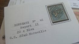 LOT 267513 TIMBRE DE FRANCE OBLITERE N�46B VALEUR 25 EUROS