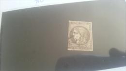 LOT 267543 TIMBRE DE FRANCE OBLITERE N�49 VALEUR 250 EUROS