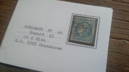 LOT 267579 TIMBRE DE FRANCE OBLITERE N�46B VALEUR 25 EUROS