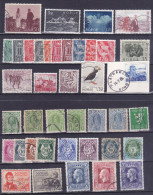 Norge - Norway - Lot Of 40 Stamps - Norvège