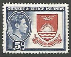 GILBERT & ELLICE N� 49 NEUF* TRACE DE   CHARNIERE  / MH