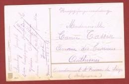 Kriegsgefangenenpost  Lager Giessen 12/3/1917 Nach Belgien - WW I