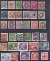 Suède - Sweden - Sverige- Lot Of 34 Stamps - Suède