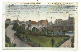 ///  CPA - Océanie - Australie - Victoria - MELBOURNE - Princes Bridge From Domain  // - Melbourne