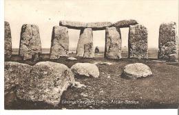 Stonehenge From Altar Stone, England - Stonehenge