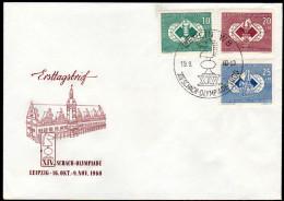 DDR 1960 - Schach Olympiade In Leipzig - FDC - Schach