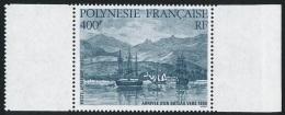 POLYNESIE 1986 - Yv. PA 191 ** SUP Bdf  Faciale= 3,36 EUR - Arrivée D'un Bateau Vers 1880 ..Réf.POL22271 - Poste Aérienne