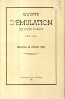Bulletin Societe Emulation Des Cotes Du Nord Tome 124 Editions De 1996 Kermoroc'h Pledeliac  Corlay  Beurre - Bretagne