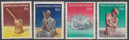 Ned. Antillen - Cultuurzegels - Maisstamper/Bentaspeleer/Hoofddoek/Jaja Met Kind - MH - NVPH 325-328 - Curaçao, Nederlandse Antillen, Aruba