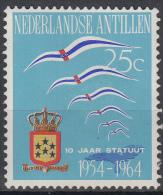 Ned. Antillen - 10 Jaar Statuut Voor Het Koninkrijk - MH - NVPH 352 - Curaçao, Nederlandse Antillen, Aruba
