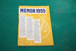 MEMOR - Calendrier Publicitaire - CAMPARI - STRASBOURG - Petit Format : 1941-60