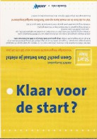 Boomerang Dubbelekaart - ANWB. Klaar Voor De Start? Wegenwacht-service.  2 Scans - Reclame