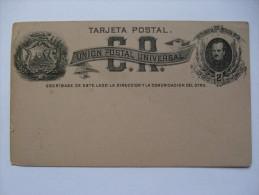 COSTA RICA 1890`S POSTAL STATIONARY CARD DOS CENTAVOS - Costa Rica