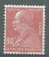 """Yt 243 """" Marcelin Berthelot 90c. Rouge """" 1927 Neuf *"""